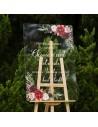 Faire-part naissance fleurs - Marion