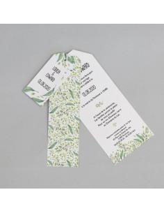 Faire-part mariage Pochette Elegante Glitter - POC0041G